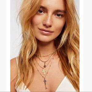 Free People Juliet's Charm Necklace NWT